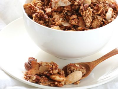recept homemade granola